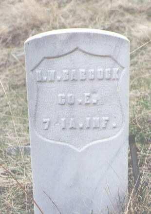 BABCOCK, H. W. - Clear Creek County, Colorado | H. W. BABCOCK - Colorado Gravestone Photos