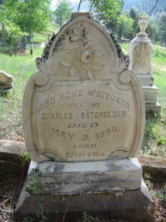 BATCHELDER, ANN ROSE - Clear Creek County, Colorado | ANN ROSE BATCHELDER - Colorado Gravestone Photos