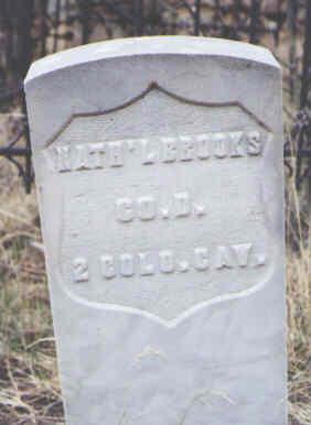 BROOKS, NATH'L - Clear Creek County, Colorado | NATH'L BROOKS - Colorado Gravestone Photos