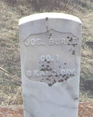 BURKE, JOS. - Clear Creek County, Colorado   JOS. BURKE - Colorado Gravestone Photos