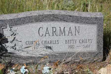 CRILEY CARMAN, BETTY - Clear Creek County, Colorado   BETTY CRILEY CARMAN - Colorado Gravestone Photos