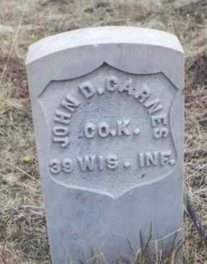 CARNES, JOHN D. - Clear Creek County, Colorado | JOHN D. CARNES - Colorado Gravestone Photos