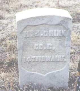 CHINN, H. J. - Clear Creek County, Colorado   H. J. CHINN - Colorado Gravestone Photos
