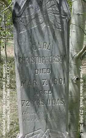 CHRISTHOPHERSON, CARL - Clear Creek County, Colorado | CARL CHRISTHOPHERSON - Colorado Gravestone Photos