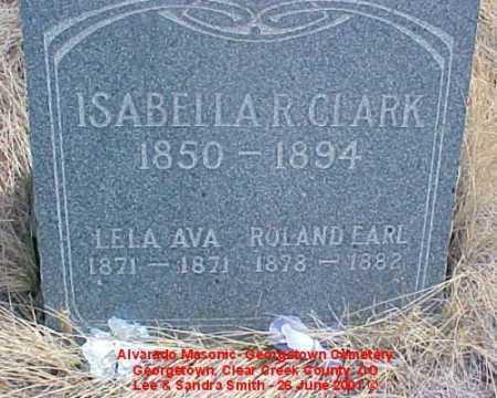 CLARK, ROLAND EARL - Clear Creek County, Colorado | ROLAND EARL CLARK - Colorado Gravestone Photos