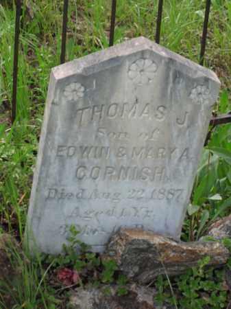 CORNISH, THOMAS J. - Clear Creek County, Colorado | THOMAS J. CORNISH - Colorado Gravestone Photos