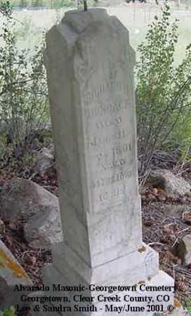 DUNCALF, THOMAS F. - Clear Creek County, Colorado | THOMAS F. DUNCALF - Colorado Gravestone Photos