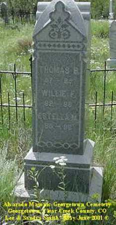 EGAN, WILLIE F. - Clear Creek County, Colorado | WILLIE F. EGAN - Colorado Gravestone Photos