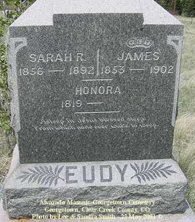 EUDY, HONORA - Clear Creek County, Colorado | HONORA EUDY - Colorado Gravestone Photos