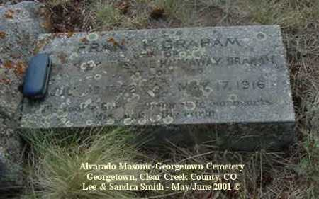 GRAHAM, FRANK H. - Clear Creek County, Colorado | FRANK H. GRAHAM - Colorado Gravestone Photos