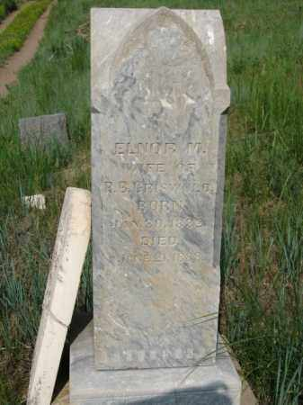 GRISWOLD, ELNOR M. - Clear Creek County, Colorado | ELNOR M. GRISWOLD - Colorado Gravestone Photos