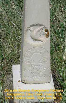 GUTHRIE, DELLA M. - Clear Creek County, Colorado   DELLA M. GUTHRIE - Colorado Gravestone Photos