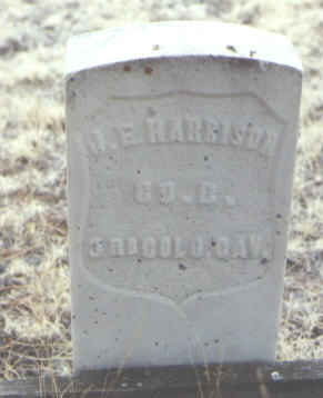 HARRISON, J. E. - Clear Creek County, Colorado | J. E. HARRISON - Colorado Gravestone Photos