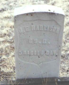 HARRISON, J. E. - Clear Creek County, Colorado   J. E. HARRISON - Colorado Gravestone Photos