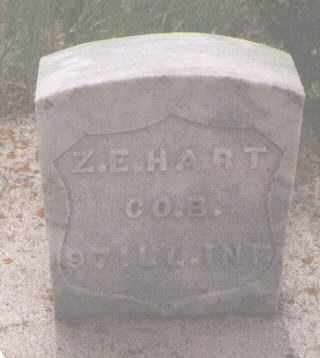 HART, ZEPHANIAH E. - Clear Creek County, Colorado | ZEPHANIAH E. HART - Colorado Gravestone Photos