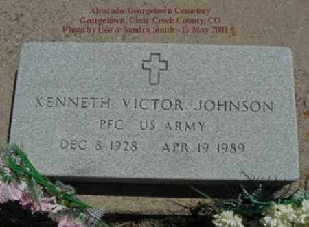 JOHNSON, KENNETH VICTOR - Clear Creek County, Colorado | KENNETH VICTOR JOHNSON - Colorado Gravestone Photos