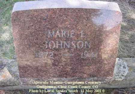 ECKLAND JOHNSON, MARIE - Clear Creek County, Colorado | MARIE ECKLAND JOHNSON - Colorado Gravestone Photos