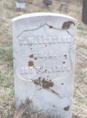 LEASURE, G. M. - Clear Creek County, Colorado | G. M. LEASURE - Colorado Gravestone Photos