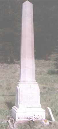 MCMURDY, JNO H. - Clear Creek County, Colorado   JNO H. MCMURDY - Colorado Gravestone Photos