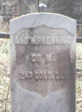 PHENNING, AND'W - Clear Creek County, Colorado | AND'W PHENNING - Colorado Gravestone Photos