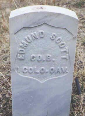 SCOTT, EDMUND - Clear Creek County, Colorado | EDMUND SCOTT - Colorado Gravestone Photos