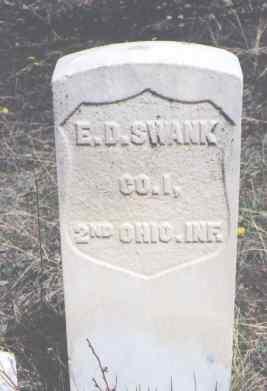 SWANK, E. D. - Clear Creek County, Colorado   E. D. SWANK - Colorado Gravestone Photos