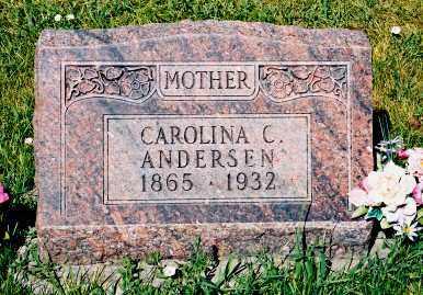 ANDERSEN, CAROLINA C. - Conejos County, Colorado   CAROLINA C. ANDERSEN - Colorado Gravestone Photos