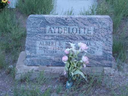AYDELOTTE, ALBERT B. - Conejos County, Colorado | ALBERT B. AYDELOTTE - Colorado Gravestone Photos