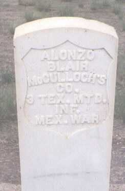 BLAIR, ALONZO - Conejos County, Colorado | ALONZO BLAIR - Colorado Gravestone Photos