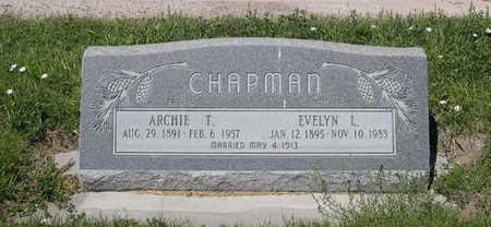 CHAPMAN, EVELYN L. - Conejos County, Colorado   EVELYN L. CHAPMAN - Colorado Gravestone Photos