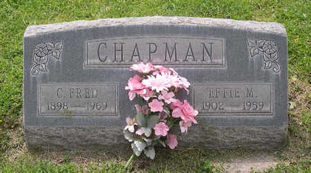 ROGERS CHAPMAN, EFFIE MAY - Conejos County, Colorado | EFFIE MAY ROGERS CHAPMAN - Colorado Gravestone Photos