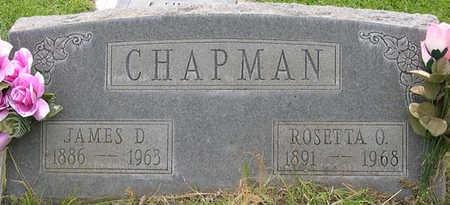 CHAPMAN, JAMES DAVID - Conejos County, Colorado | JAMES DAVID CHAPMAN - Colorado Gravestone Photos