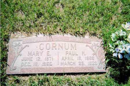 CORNUM, PAUL HEBER - Conejos County, Colorado | PAUL HEBER CORNUM - Colorado Gravestone Photos