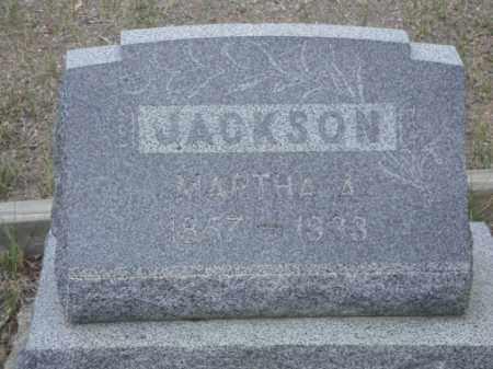 JACKSON, MARTHA A. - Conejos County, Colorado | MARTHA A. JACKSON - Colorado Gravestone Photos