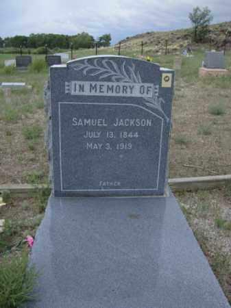 JACKSON, SAMUEL - Conejos County, Colorado | SAMUEL JACKSON - Colorado Gravestone Photos