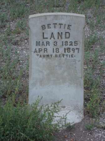 LAND, BETTIE - Conejos County, Colorado   BETTIE LAND - Colorado Gravestone Photos