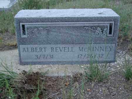 MCKINNEY, ALBERT REVELL - Conejos County, Colorado | ALBERT REVELL MCKINNEY - Colorado Gravestone Photos