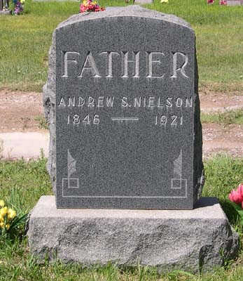 NIELSON, ANDREW SPENDRUP - Conejos County, Colorado | ANDREW SPENDRUP NIELSON - Colorado Gravestone Photos