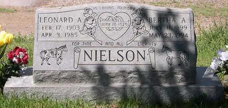 NIELSON, LEONARD A. - Conejos County, Colorado | LEONARD A. NIELSON - Colorado Gravestone Photos