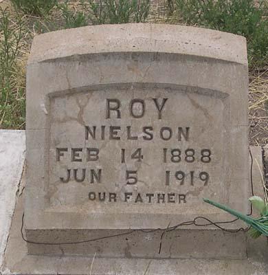 NIELSON, NELSE OLIVER - Conejos County, Colorado | NELSE OLIVER NIELSON - Colorado Gravestone Photos