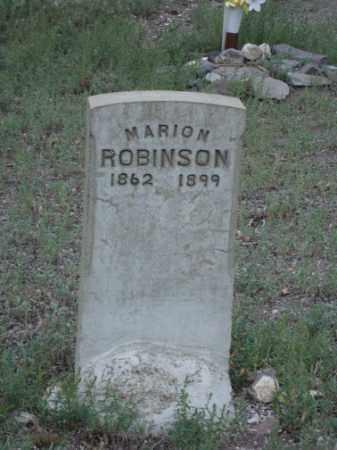 ROBINSON, MARION - Conejos County, Colorado | MARION ROBINSON - Colorado Gravestone Photos