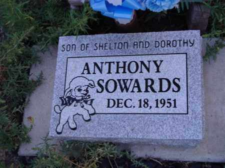 SOWARDS, ANTHONY - Conejos County, Colorado | ANTHONY SOWARDS - Colorado Gravestone Photos