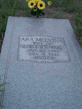 SOWARDS, ARA MELVINA - Conejos County, Colorado | ARA MELVINA SOWARDS - Colorado Gravestone Photos