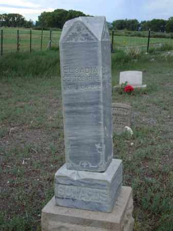 SOWARDS, ELSADIA - Conejos County, Colorado | ELSADIA SOWARDS - Colorado Gravestone Photos