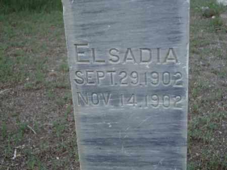 SOWARDS, ELSADIA - Conejos County, Colorado | ELSADIA SOWARDS - Colorado Gravestone Photos
