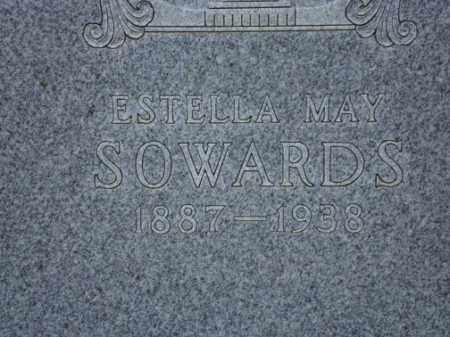 CURRAN SOWARDS, ESTELLA MAY - Conejos County, Colorado | ESTELLA MAY CURRAN SOWARDS - Colorado Gravestone Photos