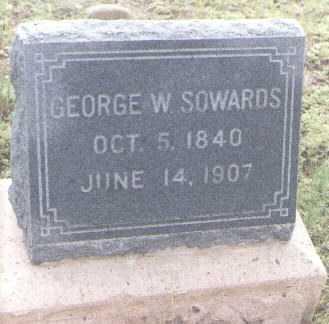 SOWARDS, GEORGE W. - Conejos County, Colorado | GEORGE W. SOWARDS - Colorado Gravestone Photos