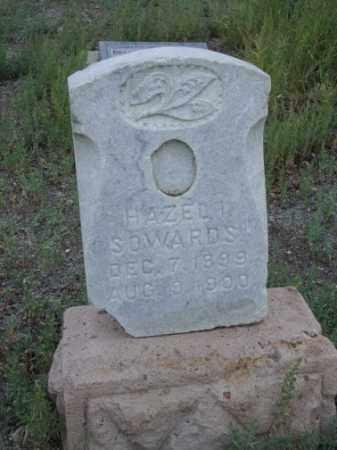 SOWARDS, HAZEL IVY - Conejos County, Colorado   HAZEL IVY SOWARDS - Colorado Gravestone Photos