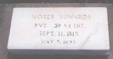 SOWARDS, MOSES - Conejos County, Colorado | MOSES SOWARDS - Colorado Gravestone Photos
