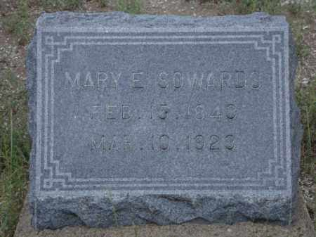 SOWARDS, MARY E. - Conejos County, Colorado | MARY E. SOWARDS - Colorado Gravestone Photos
